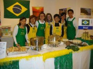 Prontos para servir um almoço bem Brasileiro
