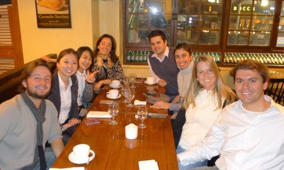 """Jantar com o pessoall da """"comunidade"""" e o """"Mochileiro das Maravilhas"""""""