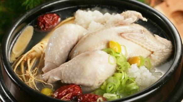 Samgyetang (삼계탕)