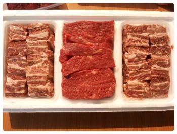 presente de carnes ChuSeok dia de Ação de Graças 2012